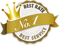 BEST RATE! BEST SERVICE!